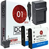 2x DOT-01 1200mAh Replacement Nikon EN-EL19 Batteries and Charger for Nikon Coolpix S6900 S7000 S100 S4300 S6500 S6400 S5200 S6800 S5300 S3600 S32 S3500 S33 S3700 Digital Camera and Nikon ENEL19