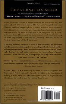 roger shattuck forbidden knowledge pdf
