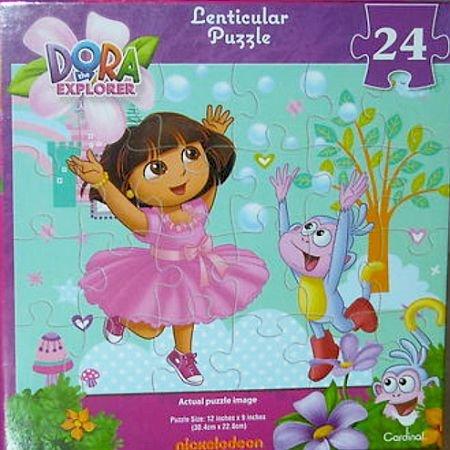 Dora The Explorer Lenticular Puzzle - 24 Pieces