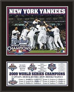 New York Yankees 2009 World Series Champions 12X15 Plaque By Mounted Memories by Mounted Memories