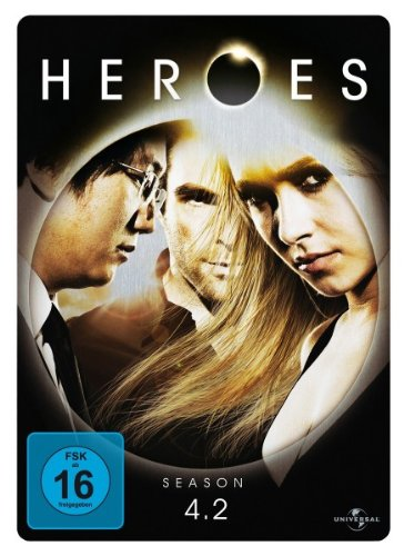 Heroes - Season 4.2 (Limited Steelbook) [3 DVDs]