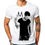 Mazumi8 Maroon 5 FC Rock T-Shirt Size S White