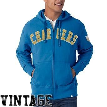 NFL San Diego Chargers Mens Striker Full Zip Jacket by
