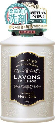ラボン 柔軟剤入り洗剤 フローラルシック 850g
