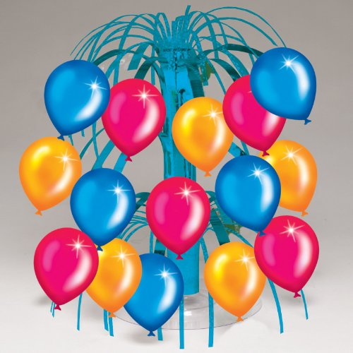 Birthday Balloons Mini Cascade Centerpiece Party Accessory