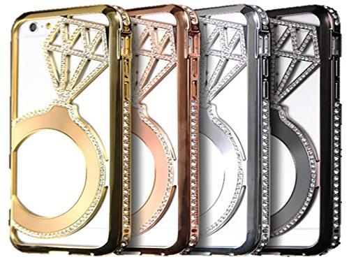 (ジュエリーエンジェル) JEWELRY ANGEL iPhone6/s plus 5.5インチ ジュエリーストーンバンパーケースカバー(シルバー)