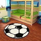Kinderteppich 'Fussball' Teppich versch. Maße