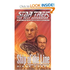 Ship of the Line (Star Trek Next Generation (Unnumbered)) by Diane Carey