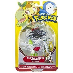 Arceus, Darkrai, Shaymin (Sky Forme): Pokemon Mini-Figure Multi-Pack Series
