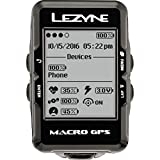 Lezyne Macro GPS Cycling Computer w/ Heart Rate Lezyne