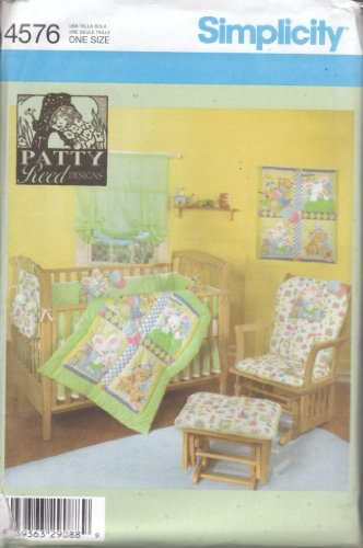 Nursery Bedding Patterns 8861 front