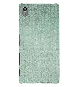 PrintVisa Faded Green Pattern 3D Hard Polycarbonate Designer Back Case Cover for Sony Z5 Plus :: Z5 Premium