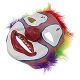 #4: Segolike Full Face Creepy Clown Mask Joker Jester Costume Halloween Fancy Dress for Kids Adult