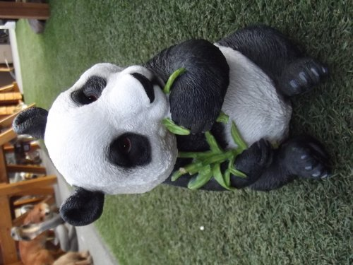 Resin Lifelike Panda Ornament, Garden Ornaments, Wild Animals, Indoor And  Outdoor ...