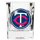 MLB 2 ounce Square Shot Glass