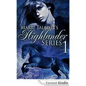 Marti Talbott's Highlander Series 1 (Anna, Rachel & Charlet) (English Edition)