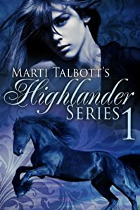 Marti Talbott's Highlander Series 1 by Marti Talbott ebook deal