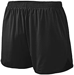 Augusta Sportswear 339 Youth\'s Solid Split Short Black Medium