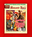 img - for Romantic Times Magazine - June, 1996. Aaron Fletcher / Outback Legacy; 150 Romance Novel Reviews; Sandra Kitt; Jill Marie Landis / Daydreamer; Jayne Ann Krentz / Dangerous Men and Adventurous Women; Marsha Canham, Katherine Kingsley, Jill Gregory and book / textbook / text book