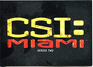 CSI Miami Series 2 Complete 72 Card Base Set