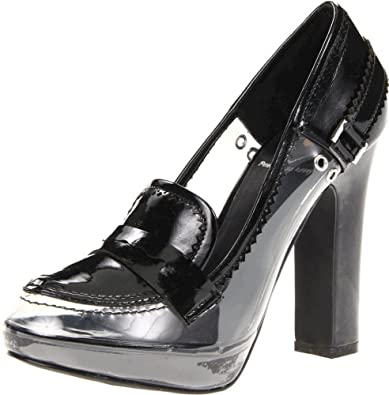 Penny Loves Kenny Women's Laraine Platform Pump,Black,6 M US