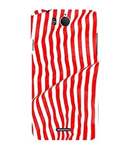 PrintVisa 3D Art Pattern 3D Hard Polycarbonate Designer Back Case Cover for Infocus M530