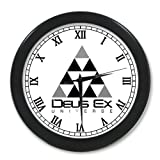 G-Store Deus Ex Human Revolution Game Watch Alarm Clock as a Nice Gift 9.65 inches