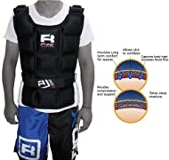 Get Authentic RDX Weighted Jacket 8Kg 10Kg 12Kg 14Kg Weight Training Exercise Vest Gym Running Price-image