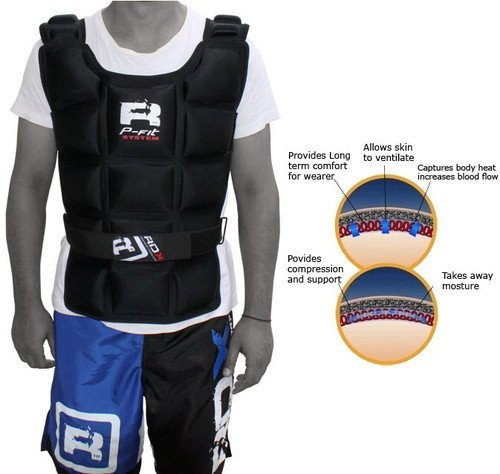 RDX Weighted Jacket 12KG Weight Training Exercise Vest
