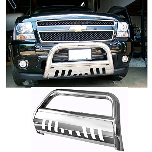 Mifeier Bull Bar Bumper Grille Grill Guard For 2007-2013 Chevy Silverado/GMC Sierra 1500 New Body S/S (Gmc Grill 2010 compare prices)