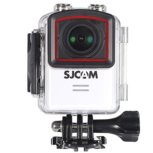 SJCAM M20 4K Action Camera Sports DV Real 4K 24FPS Ultra HD 16mp Sport Camera Mini NT96660 DSP IMX 117 WiFi 2 Inch Waterproof Action Cam Camera_White