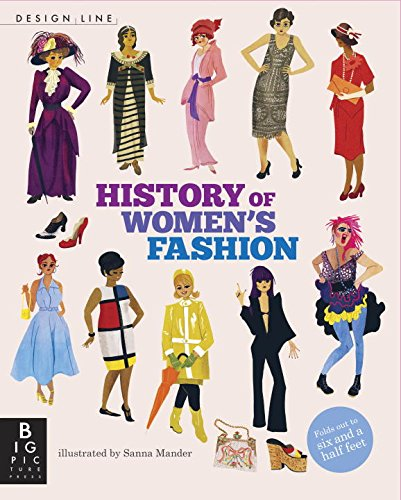 Design line history of women s fashion harvard book store for History of fashion designers
