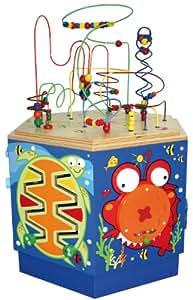 motorikspielzeug von hape spieltisch f r kleinkinder activity center. Black Bedroom Furniture Sets. Home Design Ideas