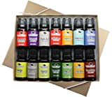 14 Essential Oil Set (14 Top Synergies) Includes 100% Pure, Therapeutic Grade of: (Sensual Synergy, Tranquil Synergy, Pain Aid Synergy, Holiday Season Synergy, Energy Synergy, Digest Aid Synergy, Brain Aid Synergy, Respir Aid Synergy, Immune Aid Synergy, Muscle Aid Synergy, Relax Synergy, Bug Off Synergy, Citrus Burst Synergy, Germ Fighter Synergy). 10 ml each.