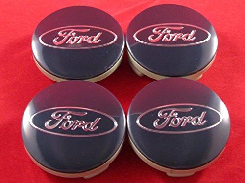 FORD FUSION ESCAPE FOCUS FIESTA BLUE CENTER CAPS CAP 6M21-1003-AA CP9C-1A096-AA (Ford Escape Wheel Center Caps compare prices)