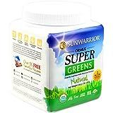 Sunwarrior Ormus Super Greens Natural, Superfood Powder 8 oz. (FFP)