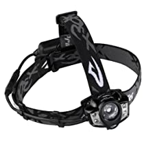 Princeton Tec Sport Lights - Apex Rechargeable Headlamp, Black Body