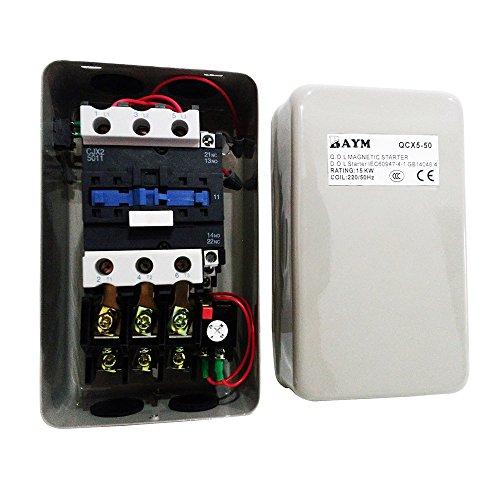 Baym Magnetic Electric Motor Starter 15kw Control 220v