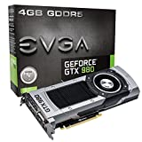 EVGA EVGA GTX980 4GB GDDR5 256bit, DVI-I, DP x 3, HDMI, SLI Ready Graphics Card (04G-P4-2980-KR) Graphics Cards 04G-P4-2980-KR