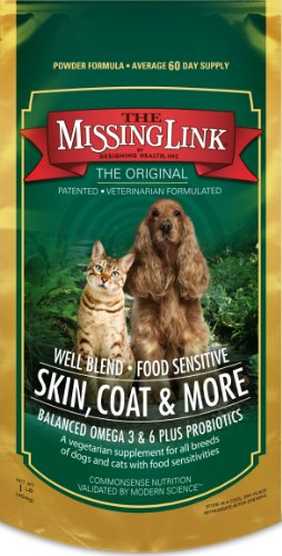 Missing Link 1-Pound Well Blend Nutritional Supplement for Dogs and Cats