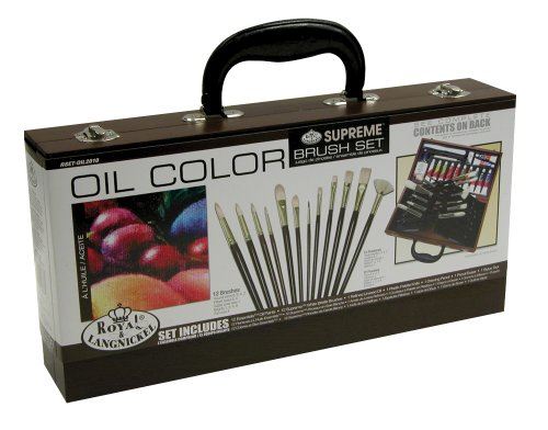 Artist Brush Set-Oil Color