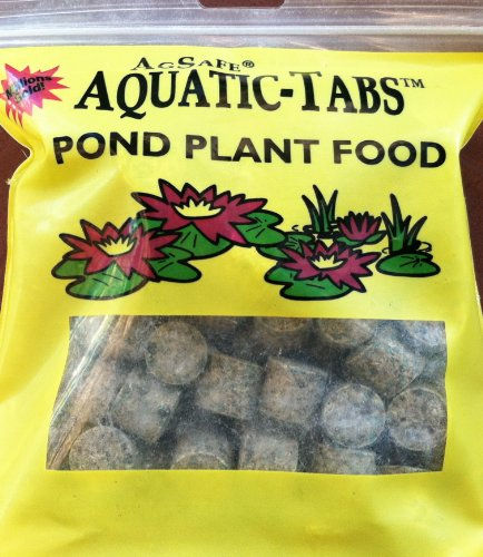 Agsafe aquatic tabs pond plant water lily fertilizer 100 for Pond plant supplies
