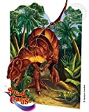 Santoro 3D Swing Greeting Card - T- Rex Dinosaur