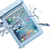 Walnew Universal Waterproof eReader Protective Case Cover for Kindle Oasis, Kindle Paperwhite, Kindle Keyboard,Amazon Kindle eReader, Kindle Fire, Sony Kobo Nook ereader, iPad Mini and more,Lightblue