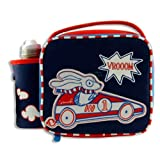 Smash Kids School Lunch Bag with water Bottle Vroom Car
