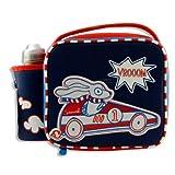Smash Kids School Lunch Bag with water Bottle Vroom Car