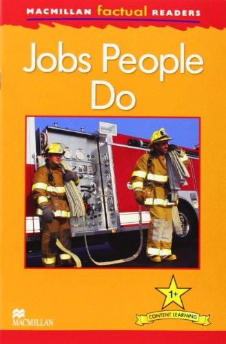 Macmillan Factual Readers: Jobs People Do