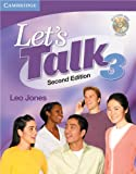 Lets Talk Level 3 Students Book with Self-study Audio CD (Lets Talk (Cambridge))