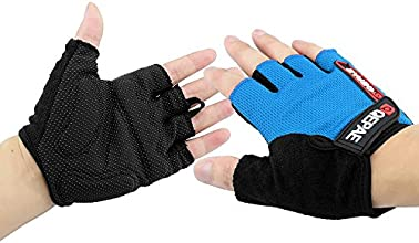Topix Cycling Gloves Bike Bicycle Gel Gloves Silicone Half Finger and Anti-slip Full Finger Gloves U