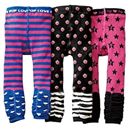 Kubeer 3pc 1-6T Baby Pants Children Autumn Leggings Tights Kids Winter Trousers